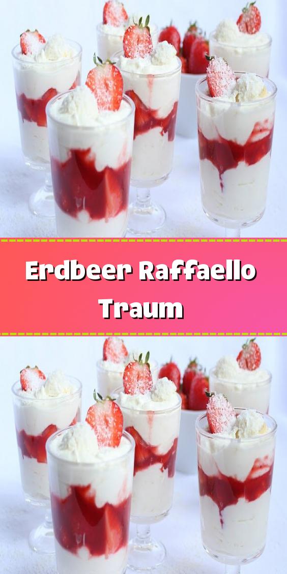 Erdbeer Raffaello Traum – Gesundmutter