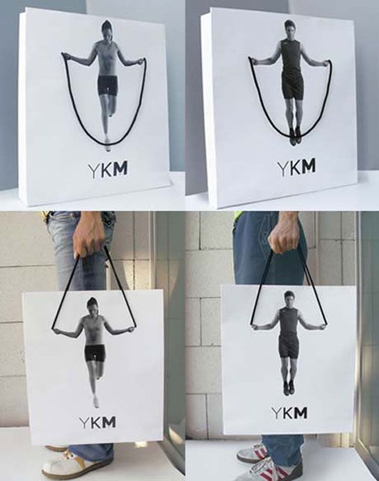 YKM Bag Package Design Inspiration