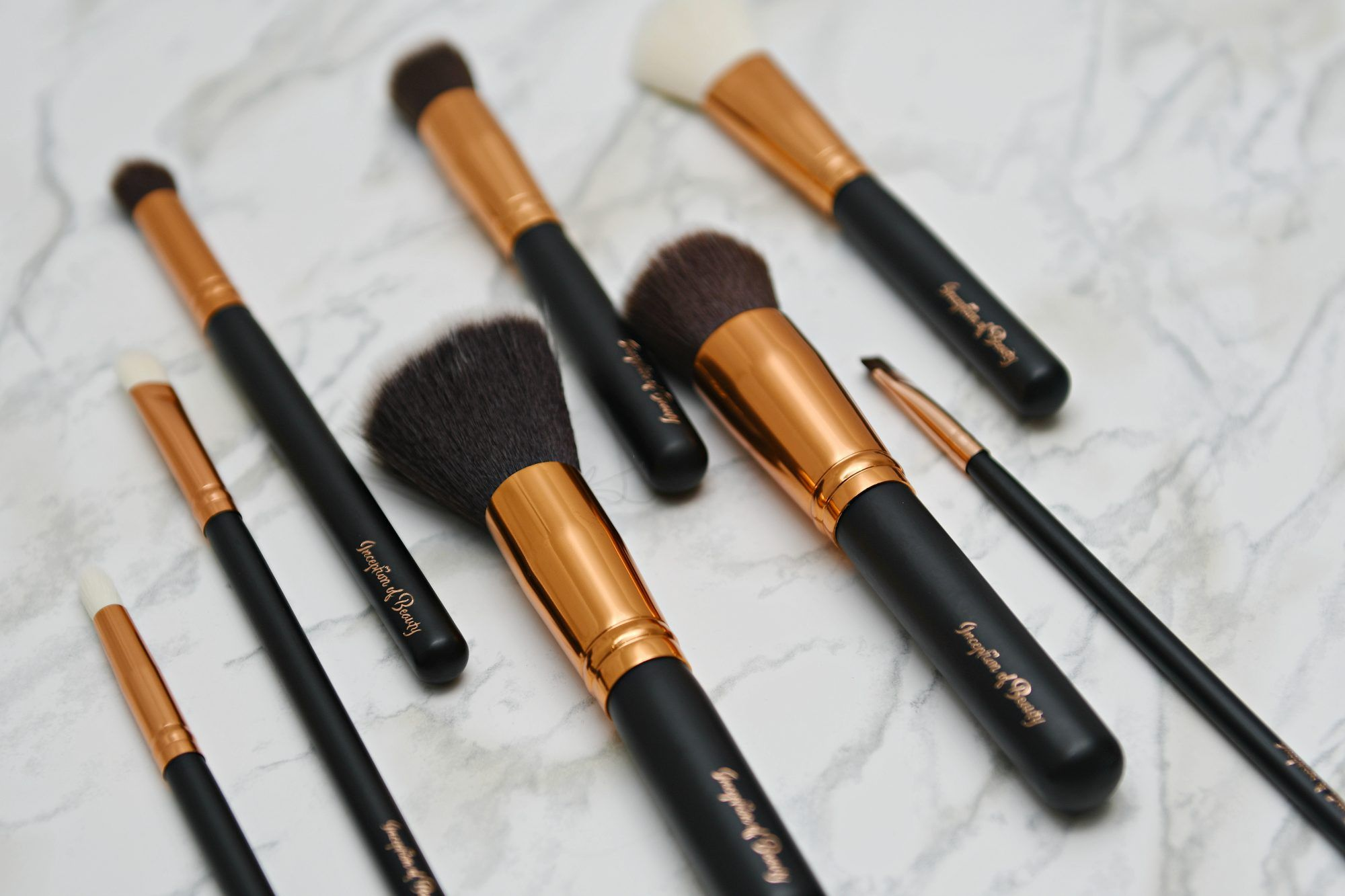 Inception Of Beauty 10pcs Oval Brush Makeup brush set