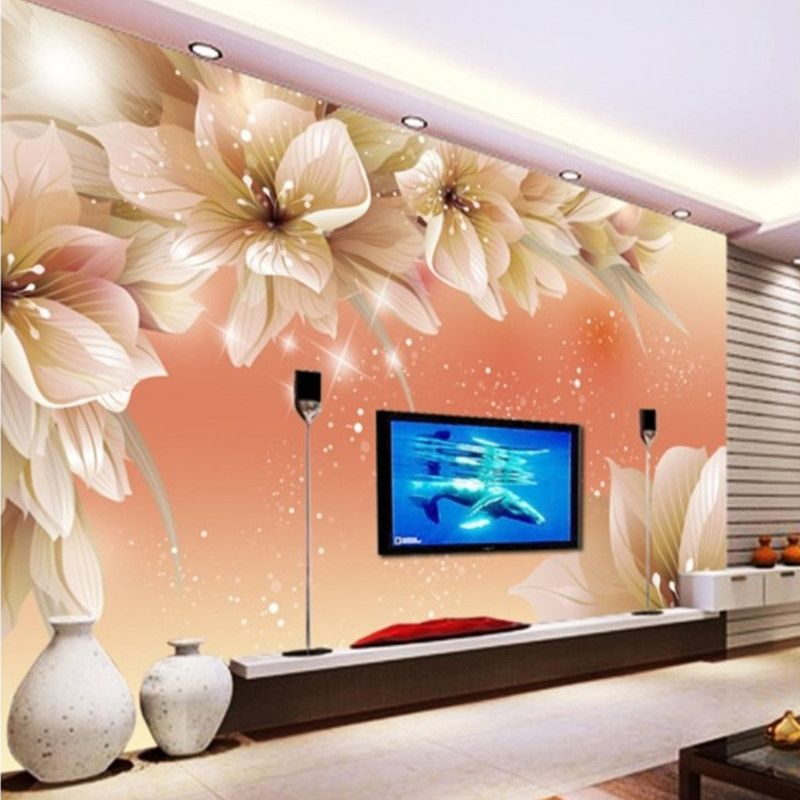 Wall Mural For Tv Wall Wall Stickers Living Room Wallpaper Living Room Home And Garden Store #wallpaper #for #living #room #wall