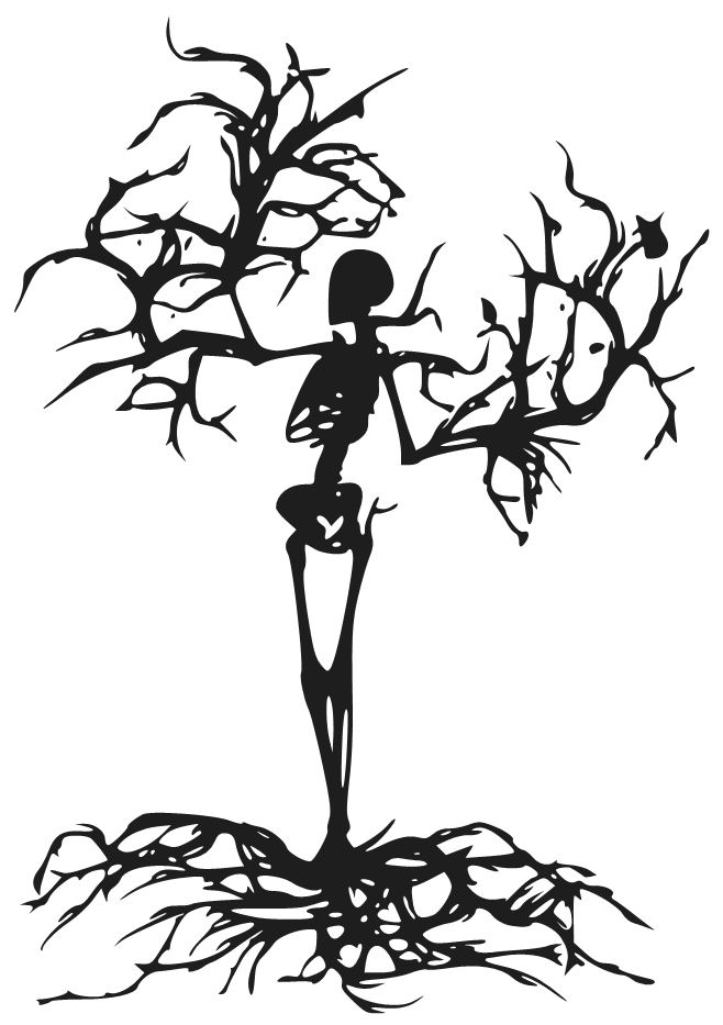 Spooky Skeleton Tree Tree Drawing Creepy Drawings Cartoon Trees Free tileable tree bark textures for 3d design and visualisation. tree drawing creepy drawings cartoon
