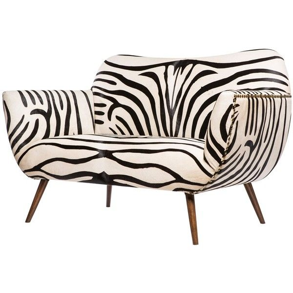 Emporium Home Zebra Settee 6 525 Liked On Polyvore Featuring Furniture Sofas Chair Sofa Decor Couch And