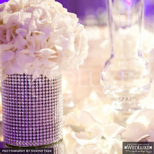 Love this centerpiece. Actually have a candle holder just like this ...