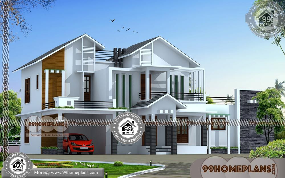 Small House Style With Two Storied House Plans Having 2 Floor 4 Total Bedroom 5 Total Bathroom And Grou Small House Style House Styles Beautiful House Plans
