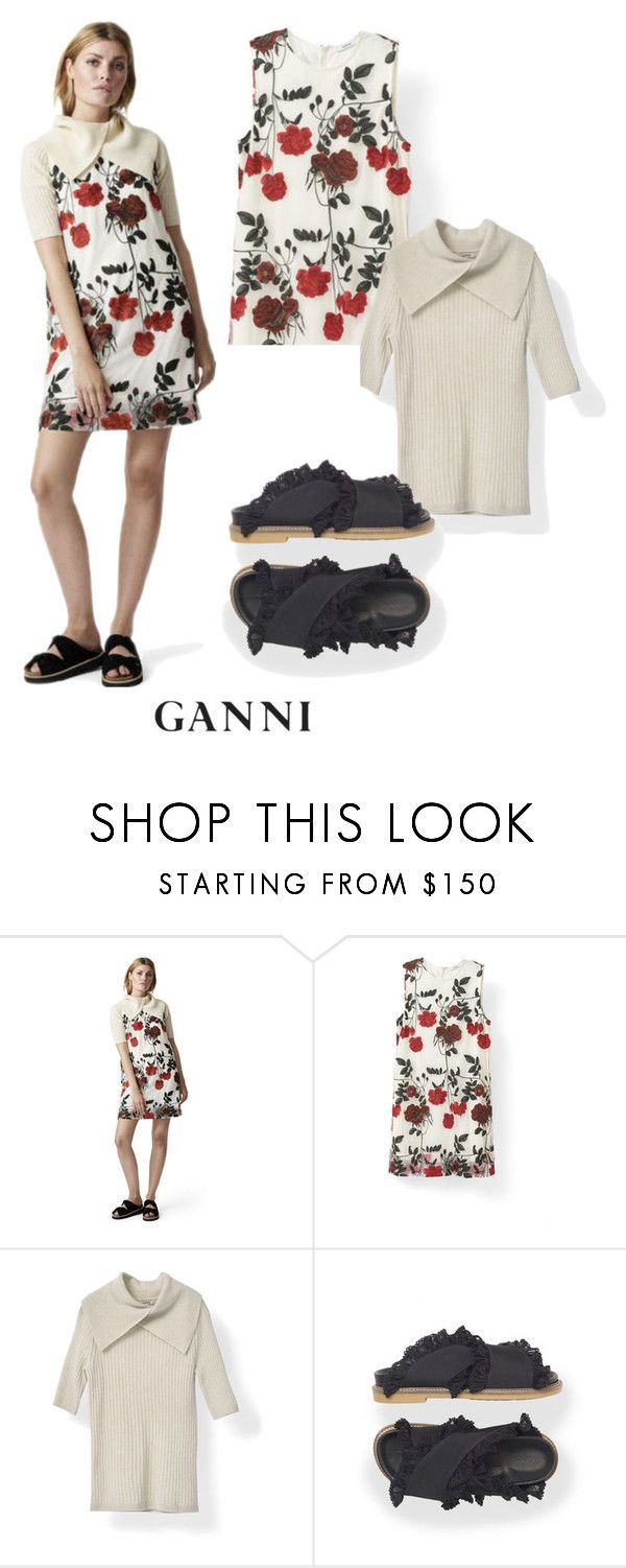 """GANNI SS17"" by ganniofficial ❤ liked on Polyvore featuring Ganni and ganni"