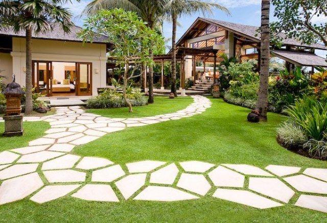 Garden Paths Design – Ideas For Stepping Stones