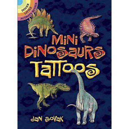 Mini Dinosaurs Tattoos, Black #dinosaurtattoos Mini Dinosaurs Tattoos, Black #dinosaurtattoos