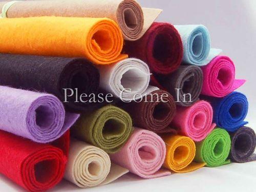 10 Felt Pieces Choose Your Own Color Sewing 300mm x 200mm, 1mm Thick Sheet PREÇO DE 10 PEÇAS  23,00 REAIS !!!