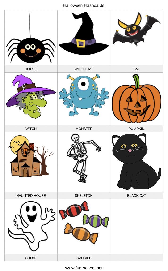 Halloween vocabulary (con imágenes) Fun.