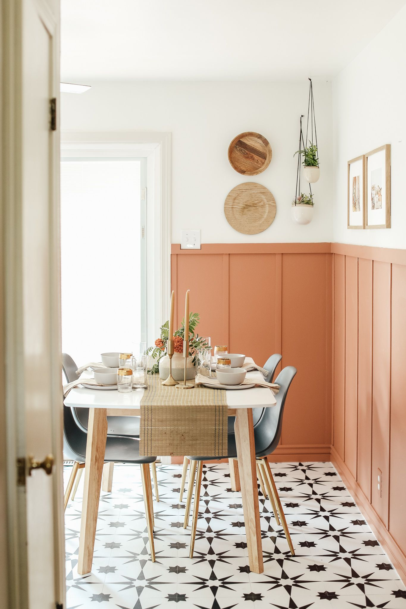 Six Budget Friendly Things That Completely Transformed Andi S Kitchen In 2021 Dinning Room Design Kitchen Refresh Apartment Decorating On A Budget