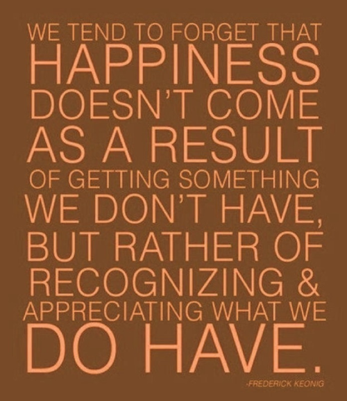true happiness against materialism