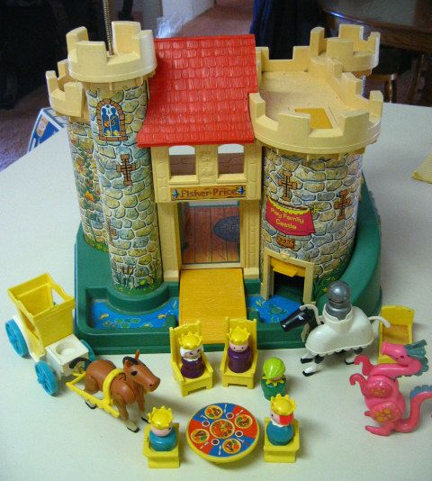 Fisher Price Castle Pretty Sure Mine Is Still At My Parents House