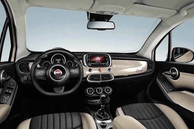 2017 Fiat 500x Changes And Price Fiat 500 Fiat 500 Interior