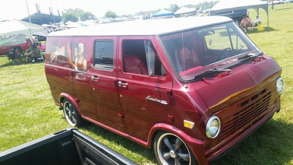 Flash Gordon Custom 70 S Ford Van Ford Van Cool Vans Van