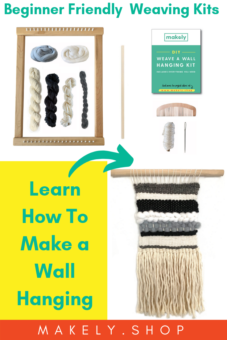 Make A Diy Wall Hanging With A Weaving Loom Kit Beginner