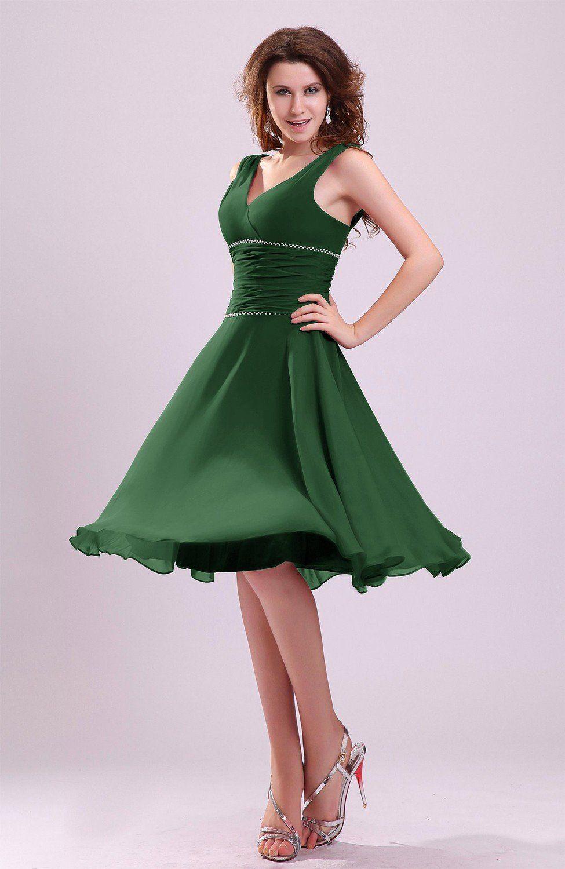 Park Art|My WordPress Blog_Hunter Green Bridesmaid Dresses With Sleeves
