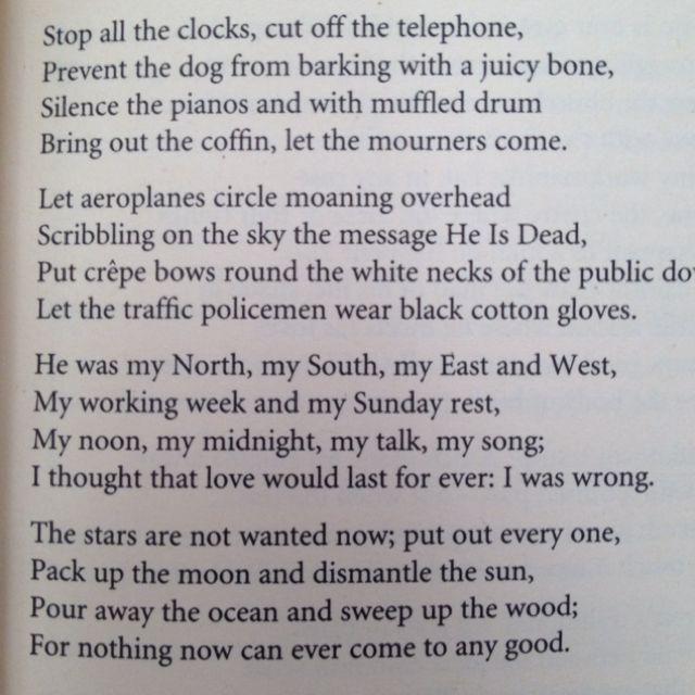 on the move poem summary pdf