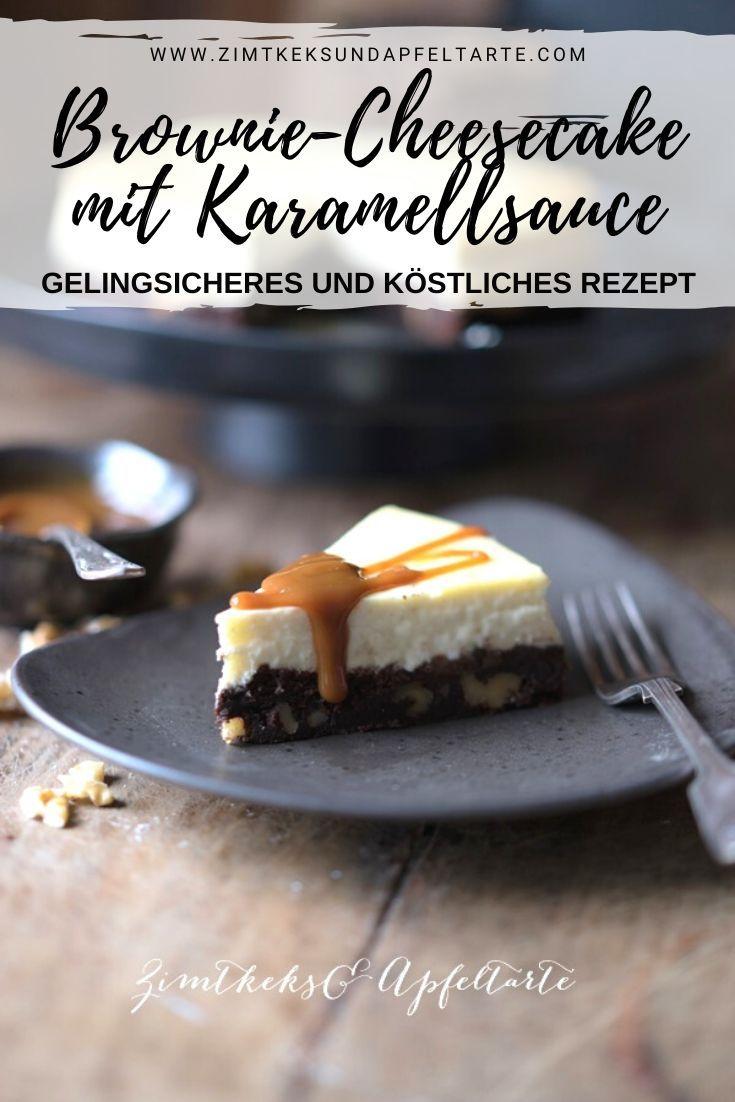 Brownie-Cheesecake - einfaches Rezept