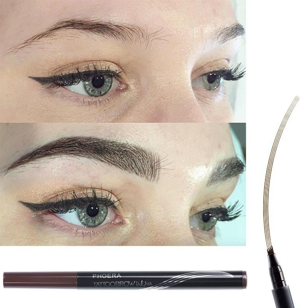 PHOERA Automatic Matte Eyebrow Pencil Waterproof Eyebrow