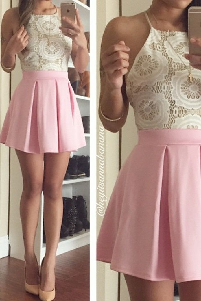 2d043cb1da Pleated Essential Flared Skirt (more colors) – Colors of Aurora ...