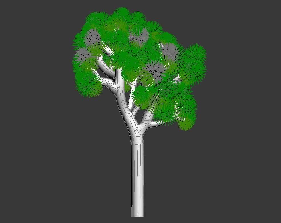 3d Joshua Tree Max File Cadbull Joshua Tree Flower Pot Design Trees To Plant