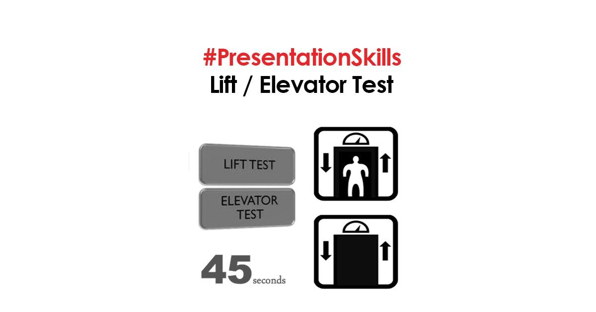 PresentationSkills : Lift / Elevator Test - English Today