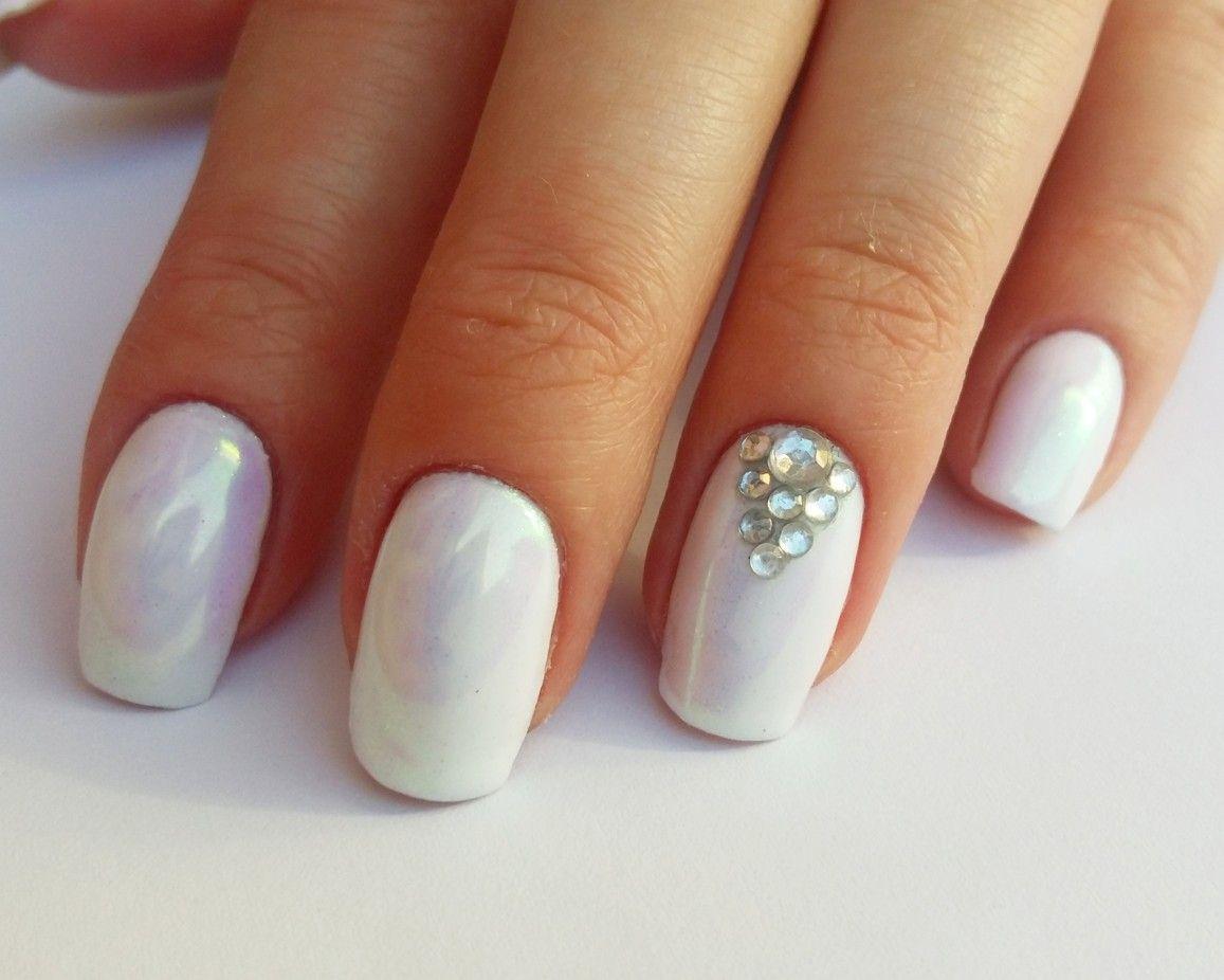 Blyszczace Paznokcie Z Cyrkoniami My Mani Nails Beauty