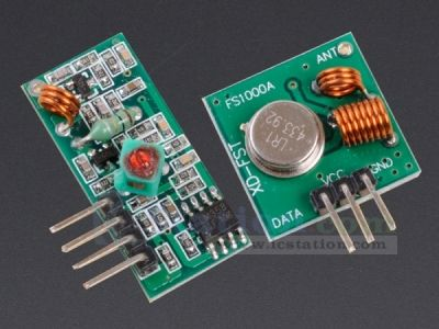 433Mhz RF Transmitter and Receiver Kit for Arduino Project - 433MHz