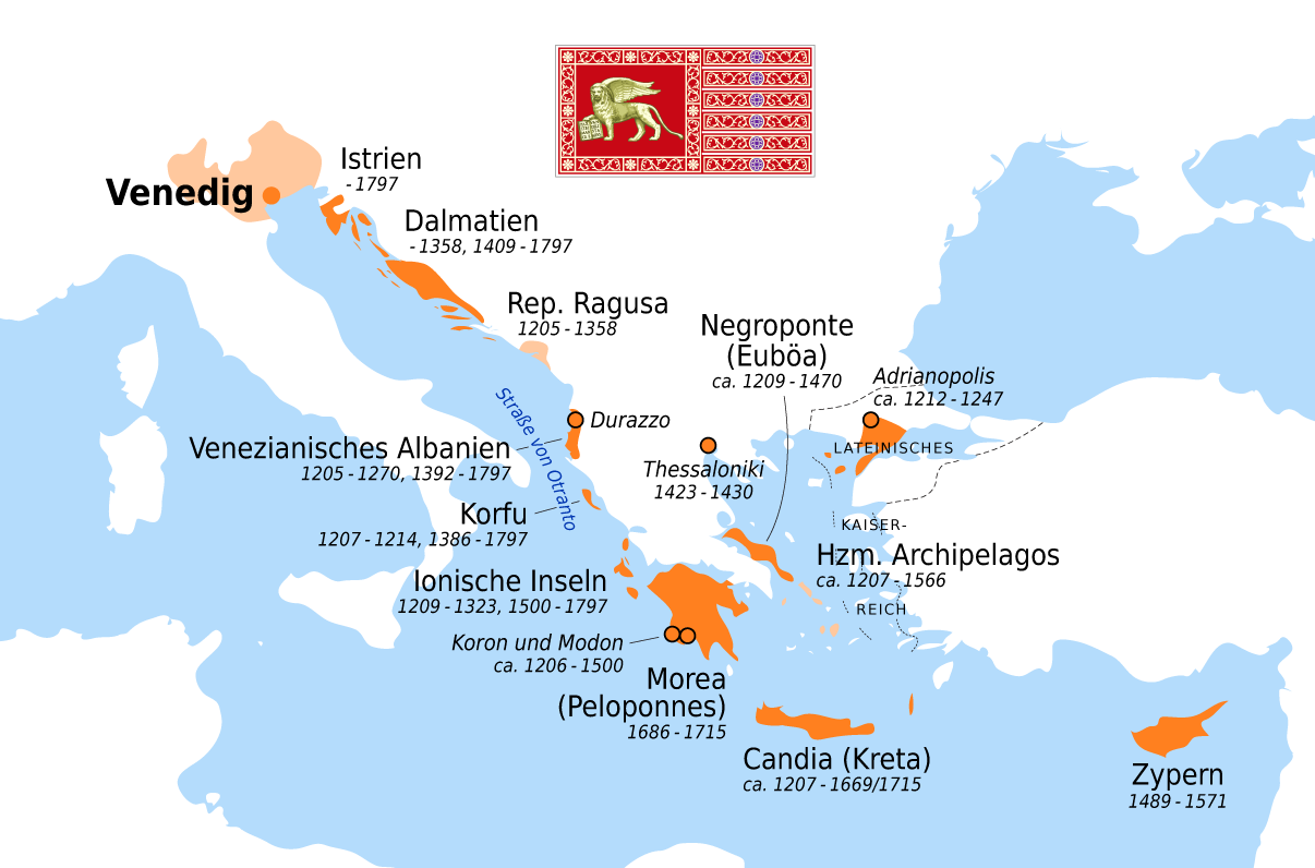 Image result for venice empire map