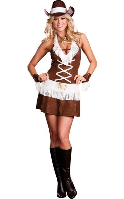 Adult Howdy Partner Cowgirl Costume -Clearance Costumes -Womens ...
