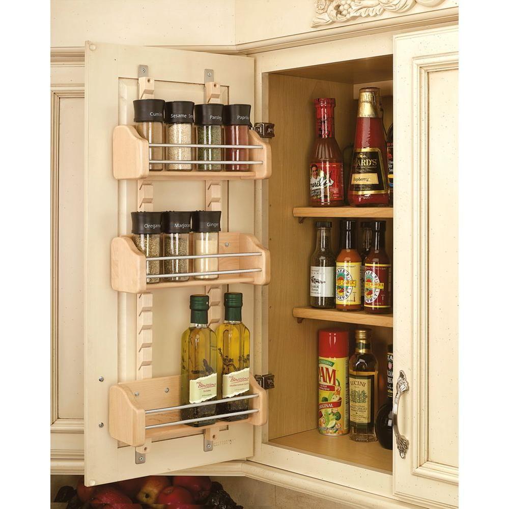Rev A Shelf 25 In H X 10125 In W X 4 In D Small Cabinet Door