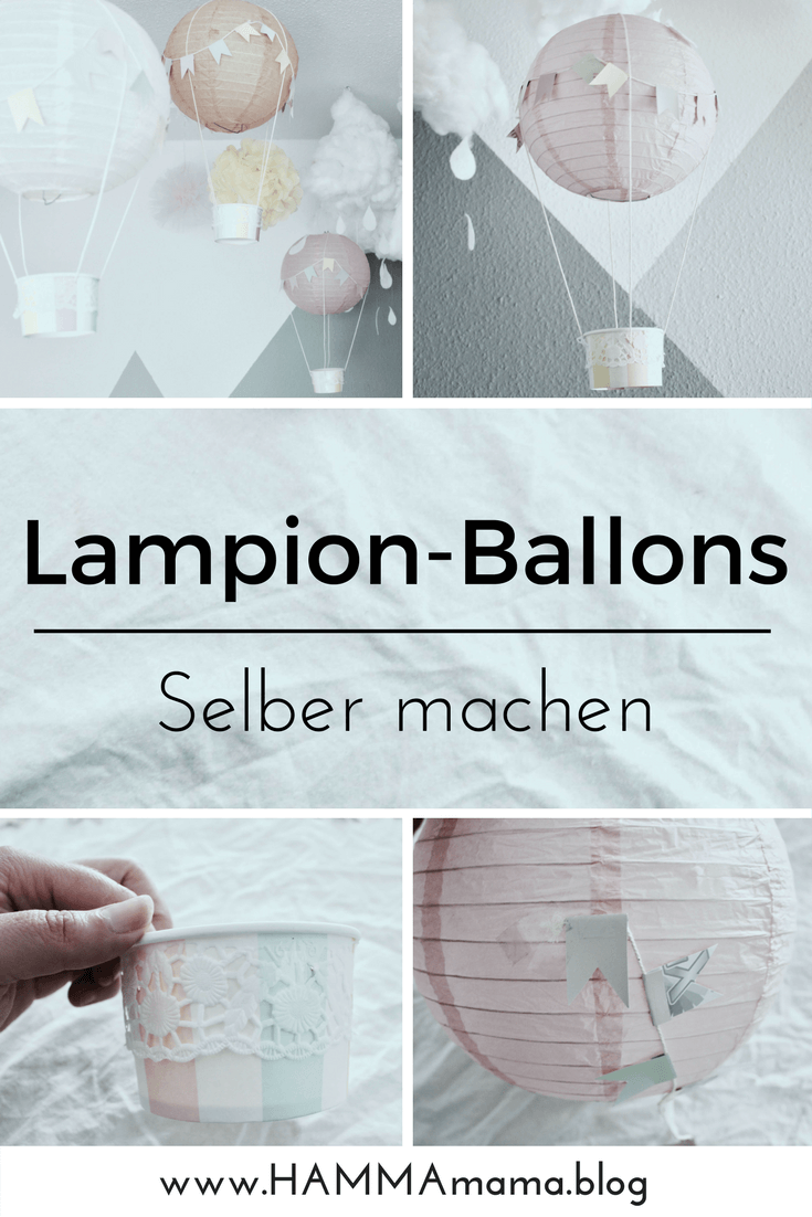 diy deko idee hei luftballons f r das kinderzimmer selber machen hammamama skandinavisch. Black Bedroom Furniture Sets. Home Design Ideas