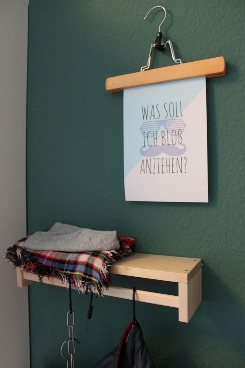 Hosenbügel Ikea diy bilderrahmen idee aus hosenspanner hosenbügel garderobe im