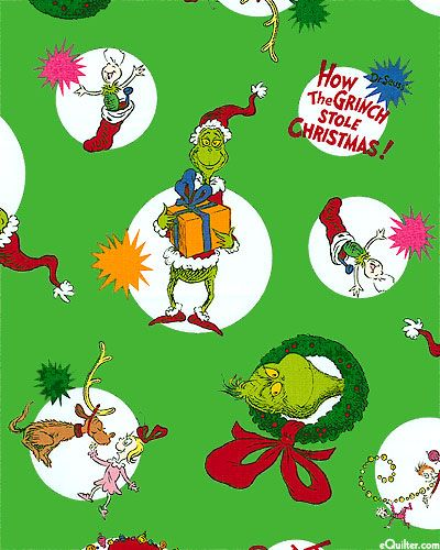 How The Grinch Stole Christmas! - Grinchy Gifts - Emerald The