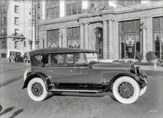 1923 Cadillac Model V-63 Phaeton at Don Lee's agency | automobiles