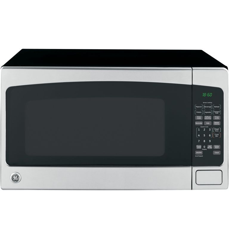 Ge Jes2051 Countertop Microwave Oven Stainless Steel