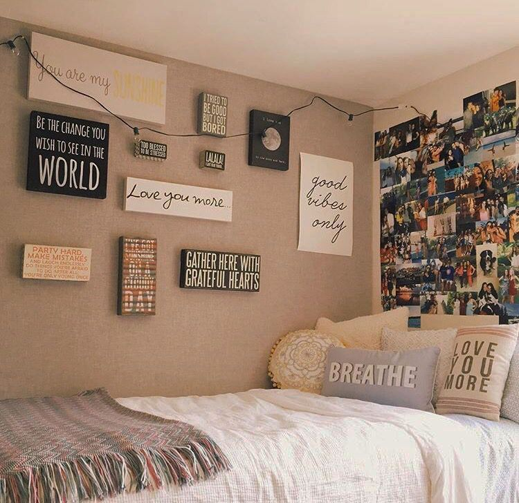Ideal Teenage Bedroom Wall Ideas Just On Tanzania Home Design Cute Dorm Rooms Dorm Room Decor Bedroom Themes