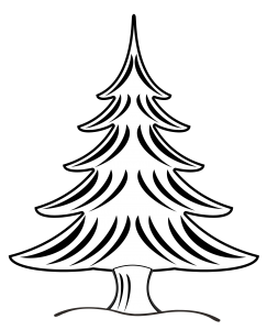 Tree Clipart Black And White 1000 Exclusive Tree Clipart Christmas Tree Drawing Clip Art