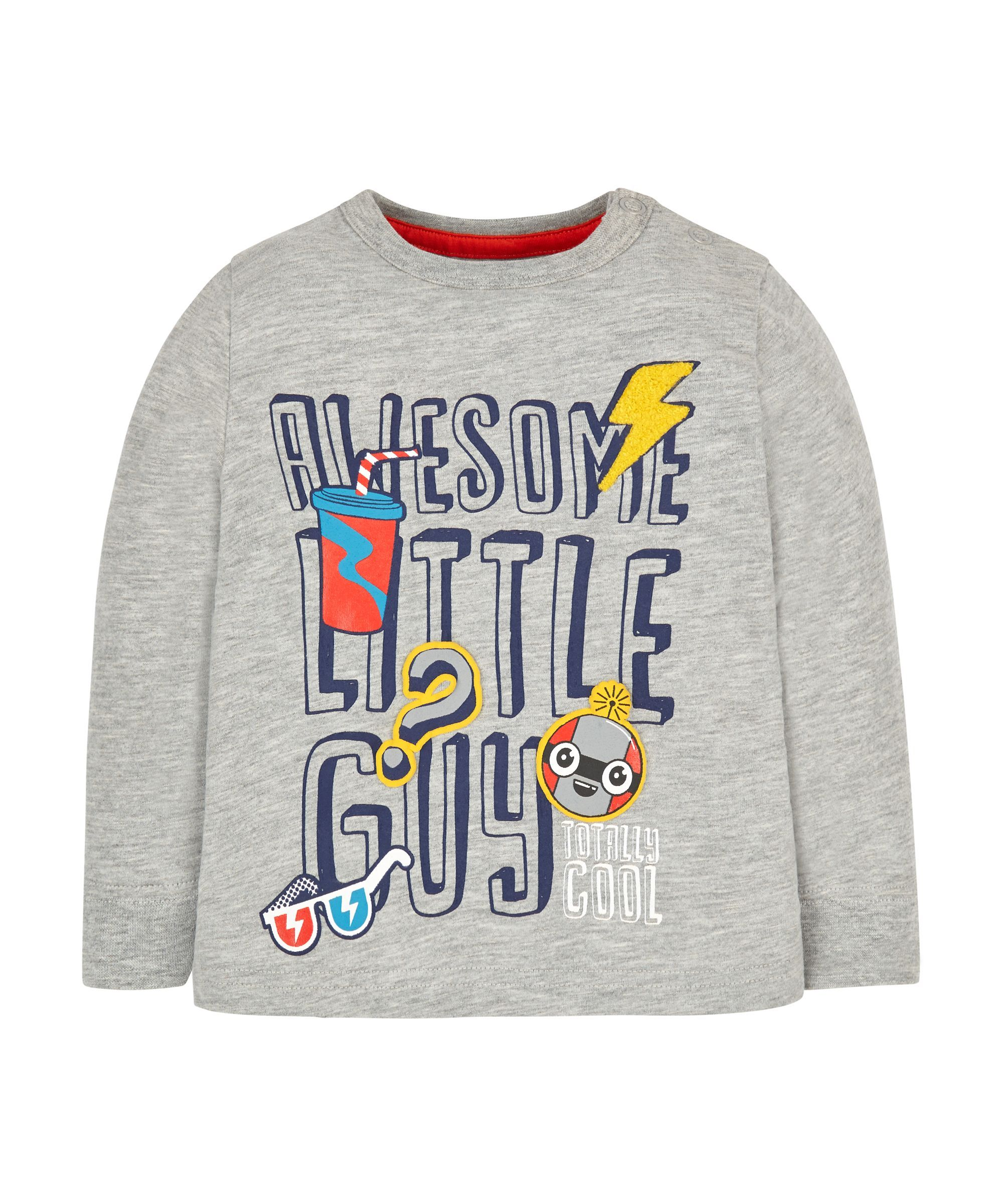 Pop Awesome Graphic T-Shirt | Kids nightwear