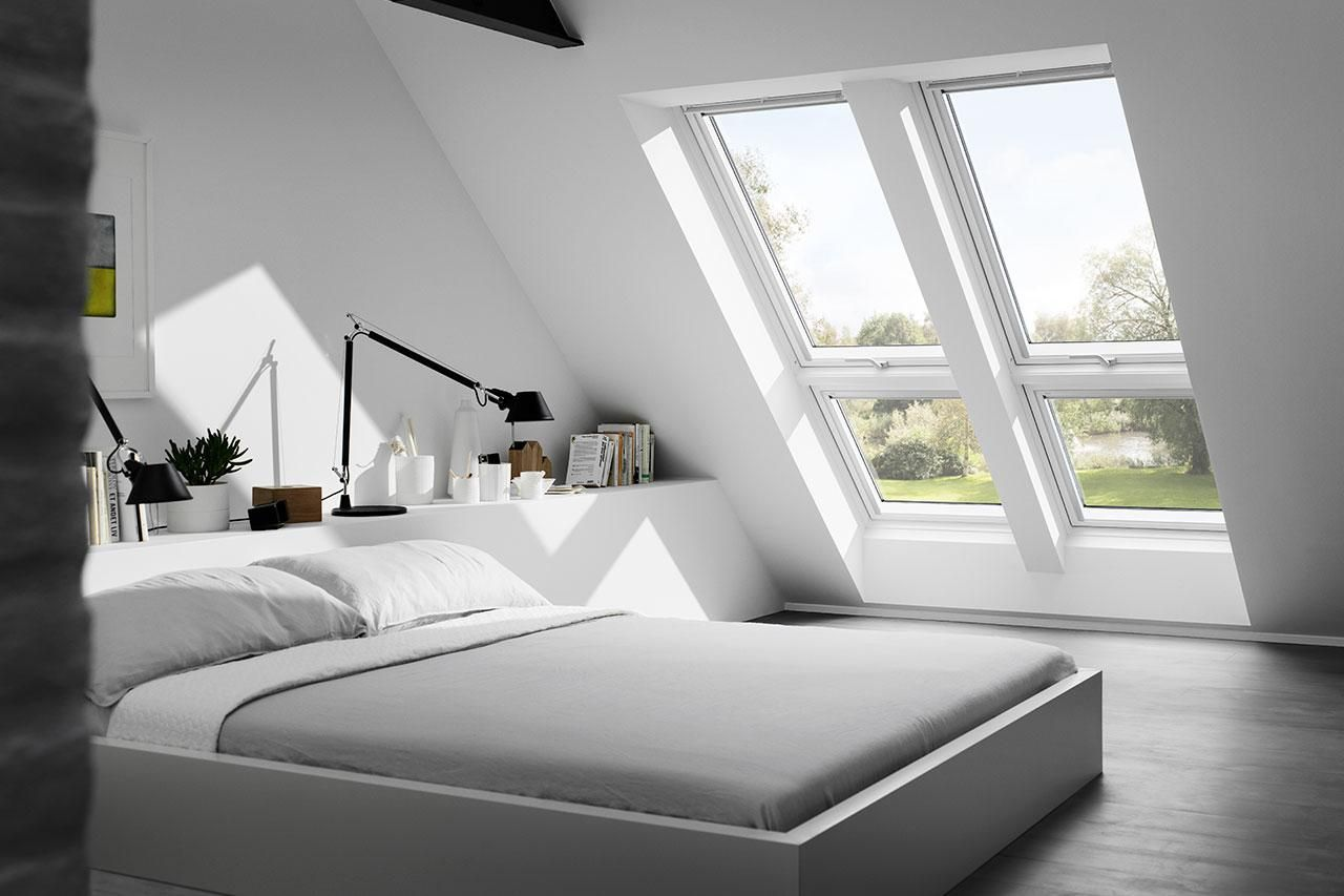 Schlafzimmer Ideen Dachgeschoss In 2020 Dachgeschoss