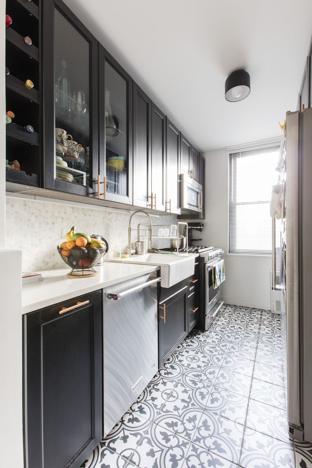 That \'70s Apartment Gets A Dose of Luxury | Kitchens