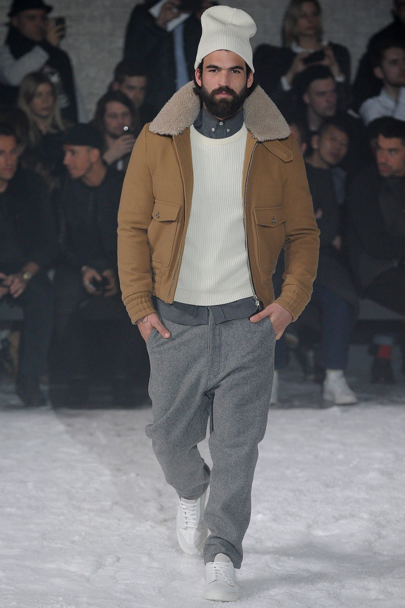 95545c351687e Sfilata Ami Milano Moda Uomo Autunno Inverno 2014-15 - Vogue Fall 14