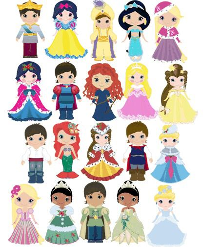 Disney Princesses & Princes