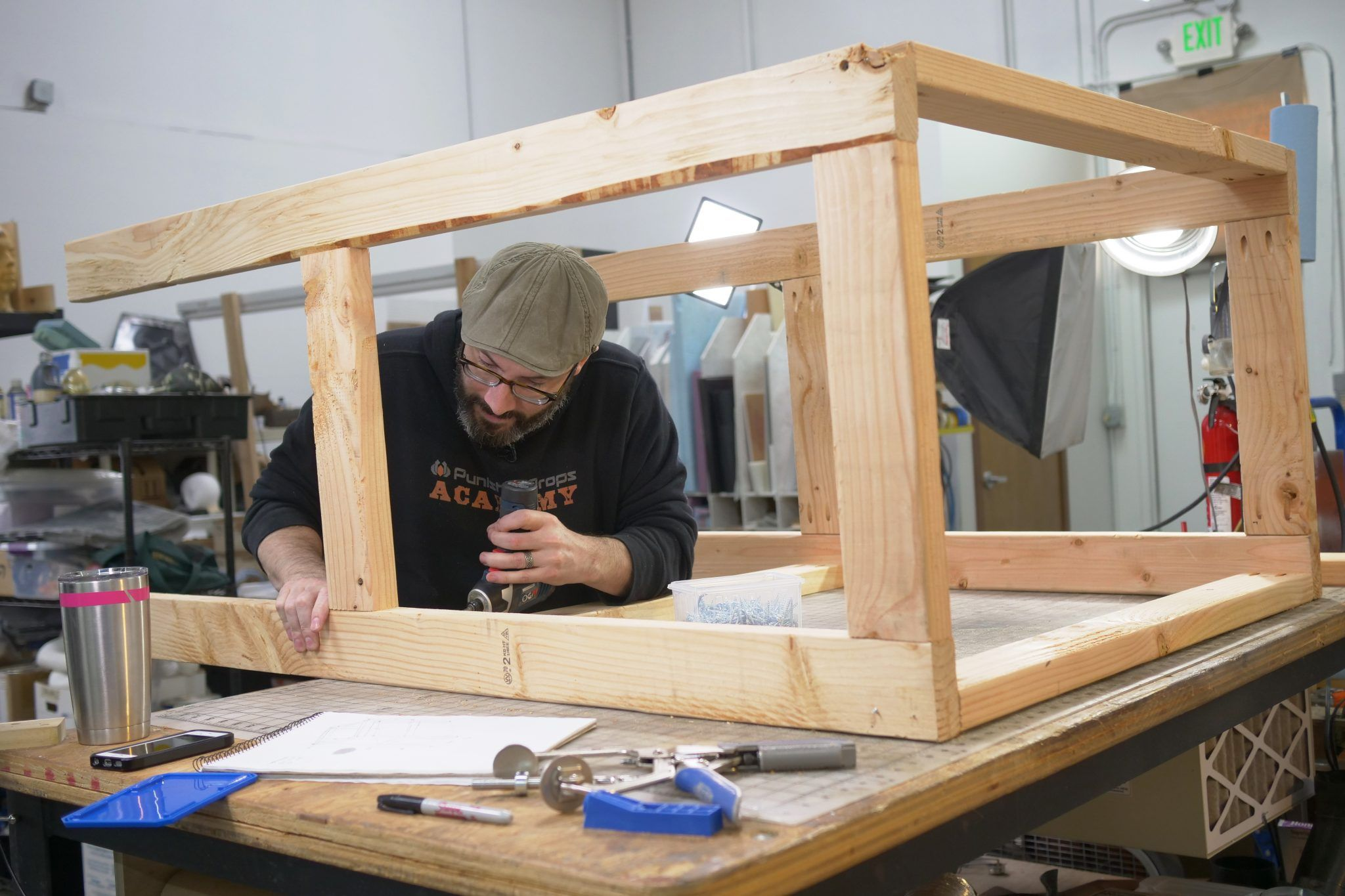 HOW TO Making a Custom Paint Booth with Lights Paint