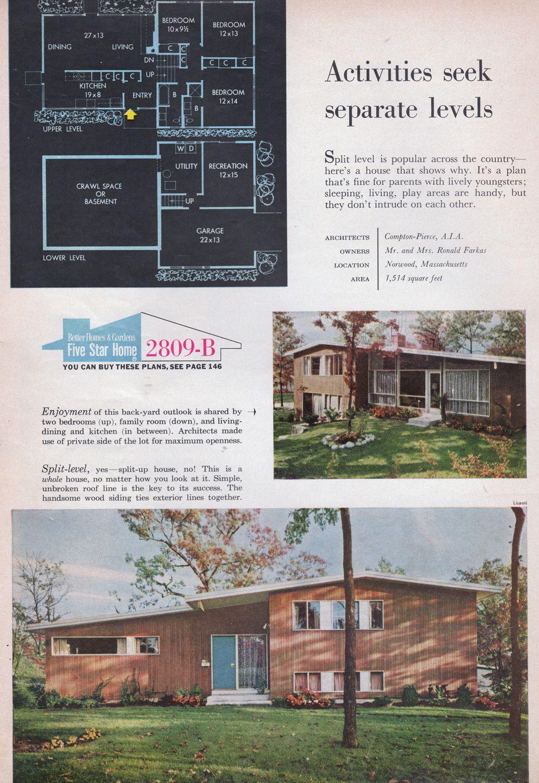 home building ideas magazine 1959 vintage architecture