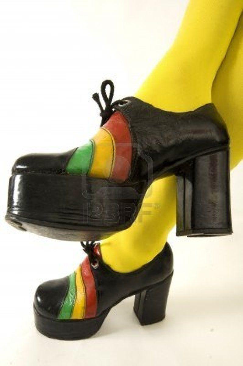 Zapatos De Plataforma Vintage Shoes Vintage Shoes Flats