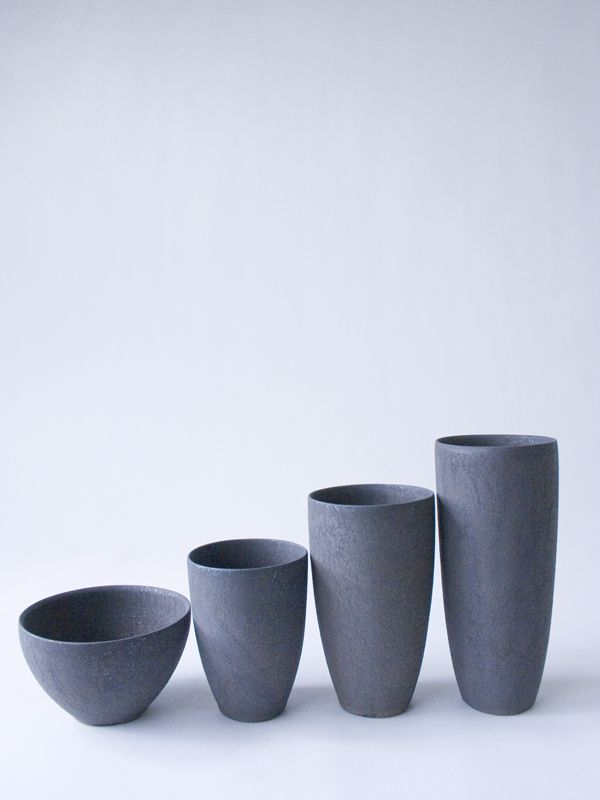 Black Cup M - RYOTA AOKI POTTERY ONLINE STORE