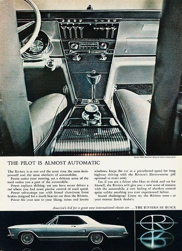 1964 Buick Riviera Magazine Advertisement Buick Riviera Buick Buick Cars