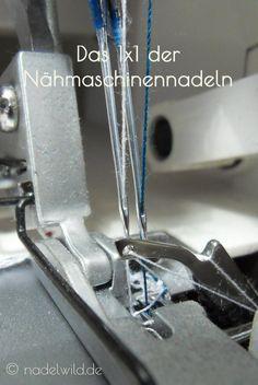 Alles über #Nähmaschinennadeln. Welche Nadeln gibt es, für ...