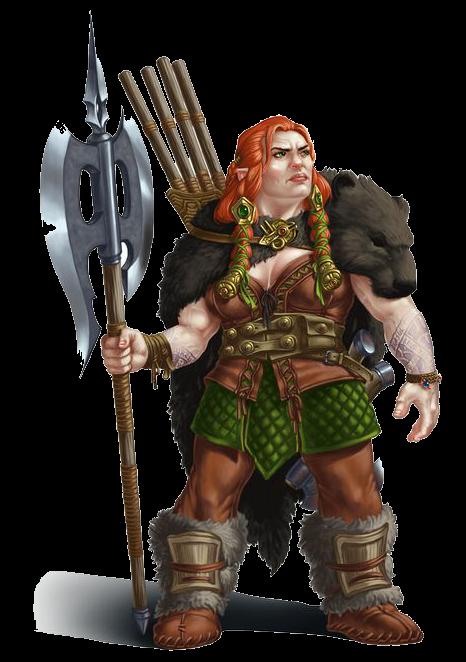 Female Dwarf Fighter
